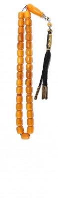Medium size, Antique look natural amber set.