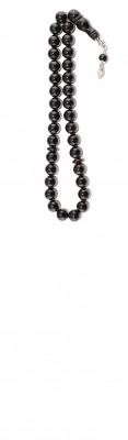 Dark Red Natural amber worry beads set.