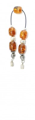Natural Amber pocket size set (begleri)