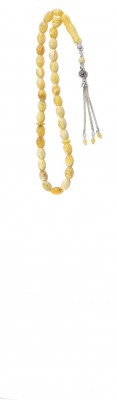Handy size, traditional style, amber worry beads set.