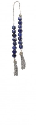 Sodalite stone, Mini worry beads (begleri) .