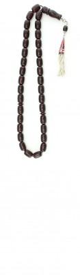 Natural Dark Red amber worry beads set.