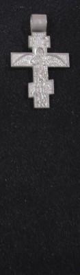 silver custom made cross