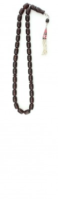 Natural Dark Red amber worry beads set.