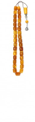 Worry beads set made of selecetd natural amber beads.