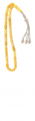 Natural, Yellow Baltic Amber, collectible worry beads set.