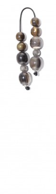 Mini worry beads (begleri) made of Horn and Silver.