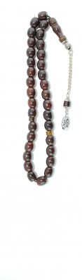 Traditional, dark Brown Faturan, worry beads set.