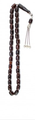 Dark Brown, Vintage Faturan, traditional, large worry beads set.