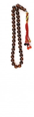 33 beads, complete set of natural amber.