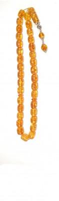Honey natural amber worry beads